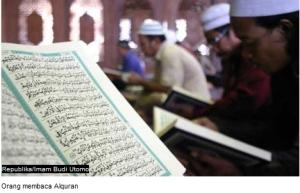 membaca alqur'an